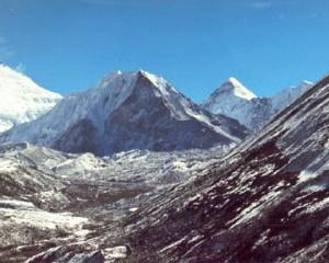 Icelandpeak Khumbu Himal Nepal 2002 Klaus Wahl Hochtour