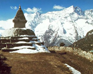 Tschörten Khumbu Himal Nepal 2002 Klaus Wahl Hochtour