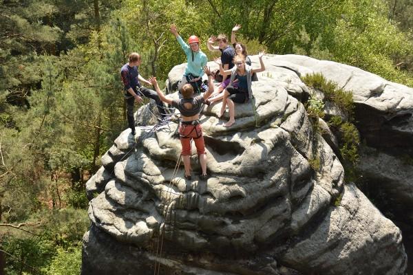 JDAV: Jugend-Kletterfahrt Sächsische Schweiz 2014