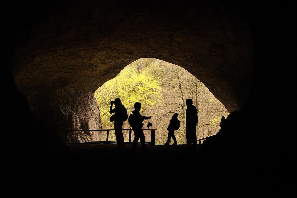 2015 DAV Suhl Höhlenwanderung Fränkische Schweiz Ludwighöhle (Foto: Andreas Kuhrt)
