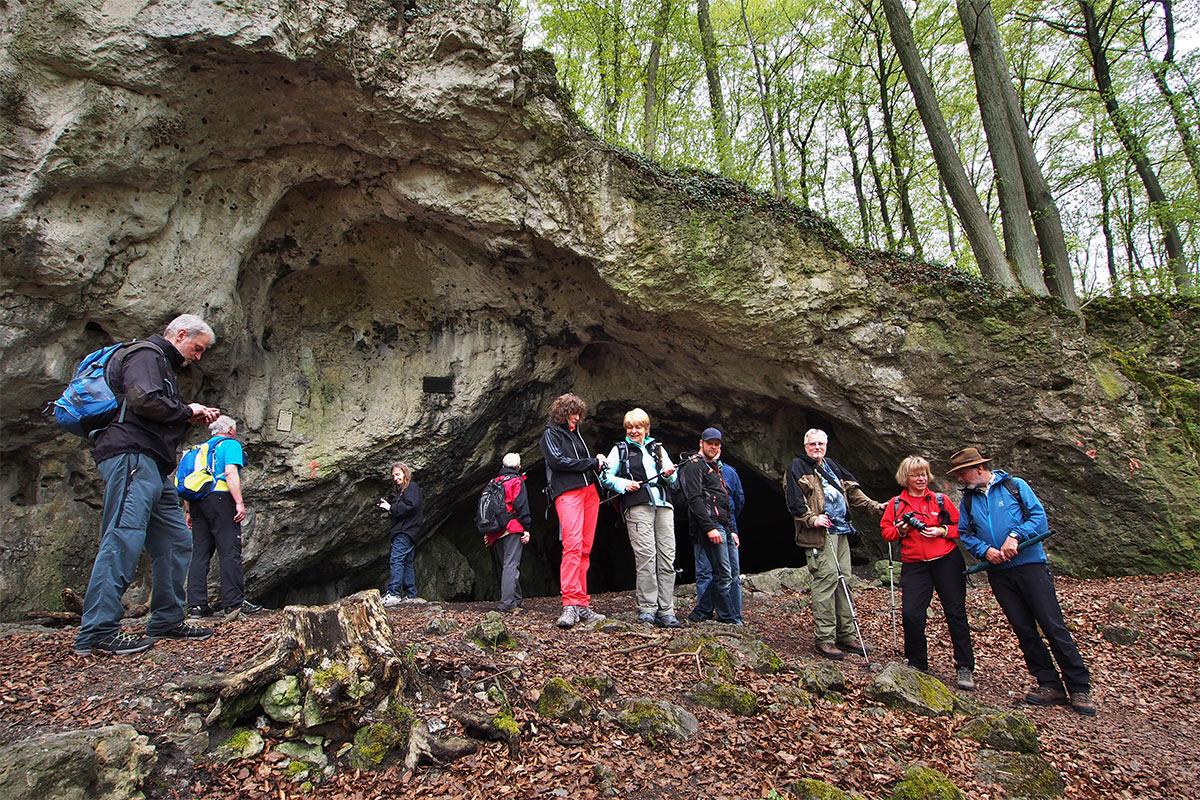2015 DAV Suhl Höhlenwanderung Fränkische Schweiz Oswaldhöhle (Foto: Andreas Kuhrt)