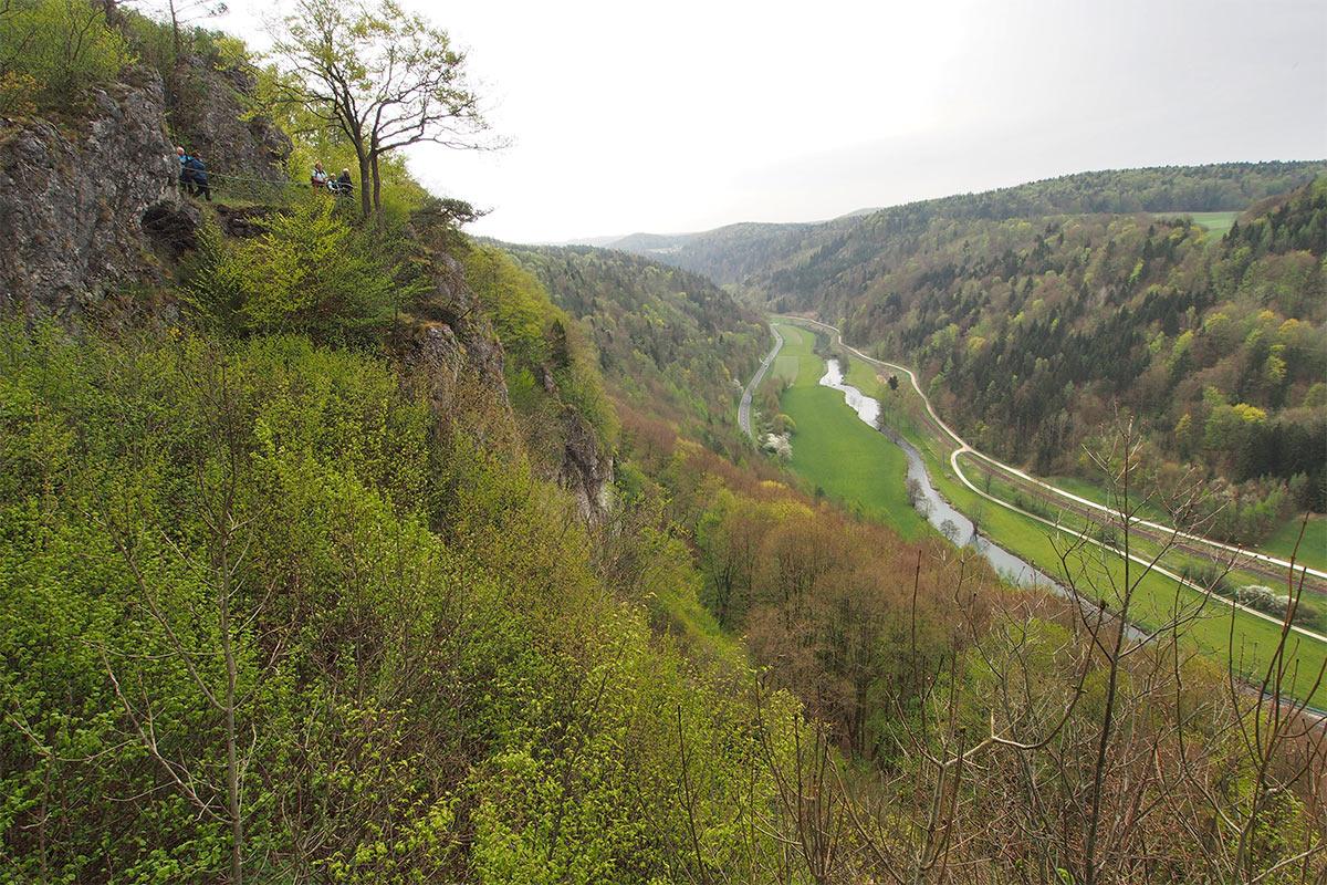 2015 DAV Suhl Höhlenwanderung Fränkische Schweiz Wisenttal (Foto: Andreas Kuhrt)