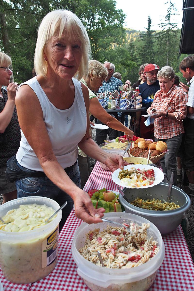 25 Jahre DAV Suhl . Forsthaus Oberschönau . 29.08.2015 (Foto: Andreas Kuhrt)