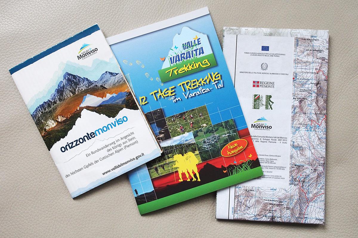Wanderinformationen Monviso/Cottische Alpen (Piemont, Nordwestitalien)