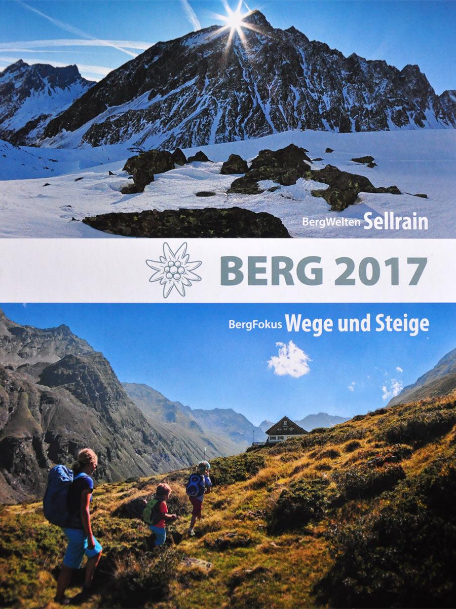 """Alpenvereins-Jahrbuch """"Berg 2017"""""""