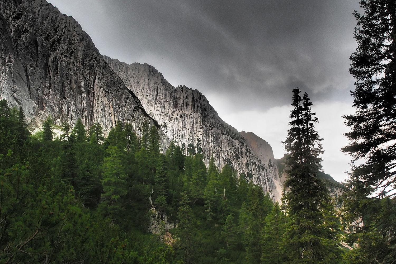 Im Angerbachtal . Karwendel (Foto: Andreas Kuhrt 2017)