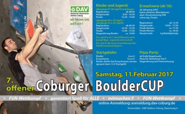 7. Coburger BoulderCUP