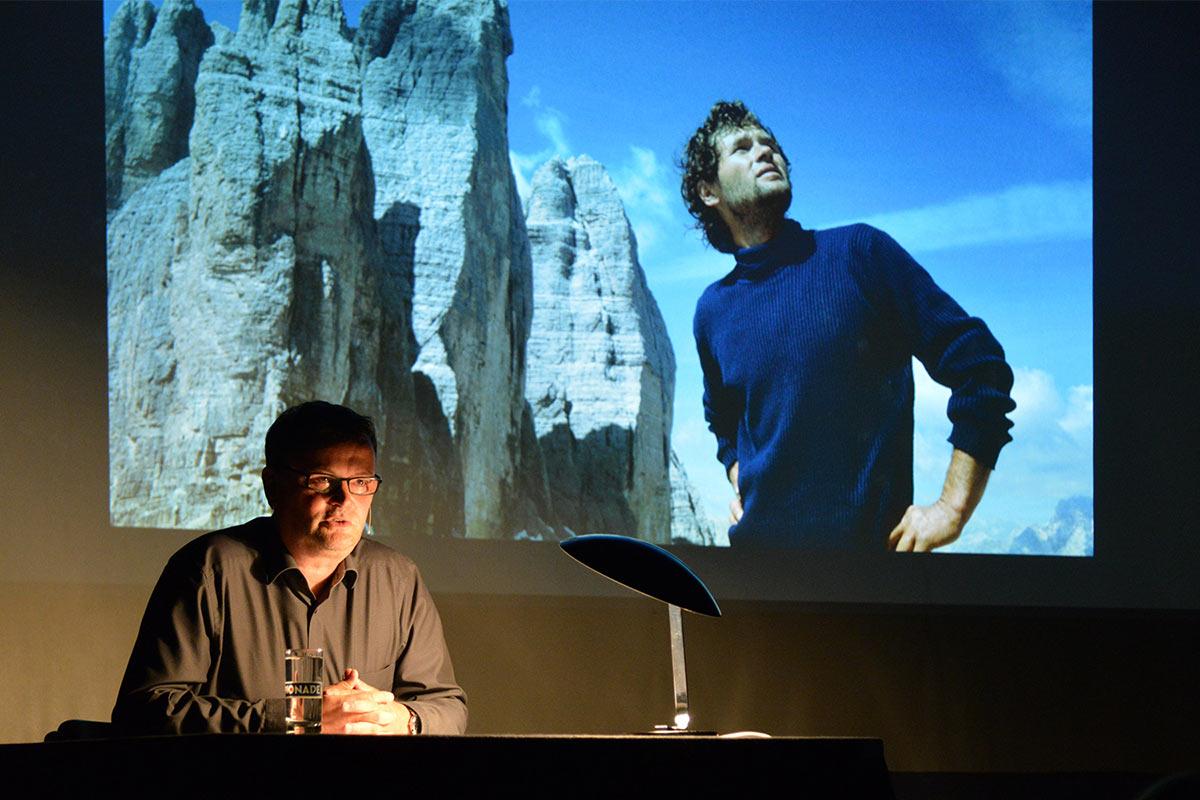 """Lesung Peter Brunnert: """"Bernd Arnold - Ein Grenzgang"""" . Hohnsteiner Bergsommerabend 2018 (Quelle: www.peter-brunnert.de)"""