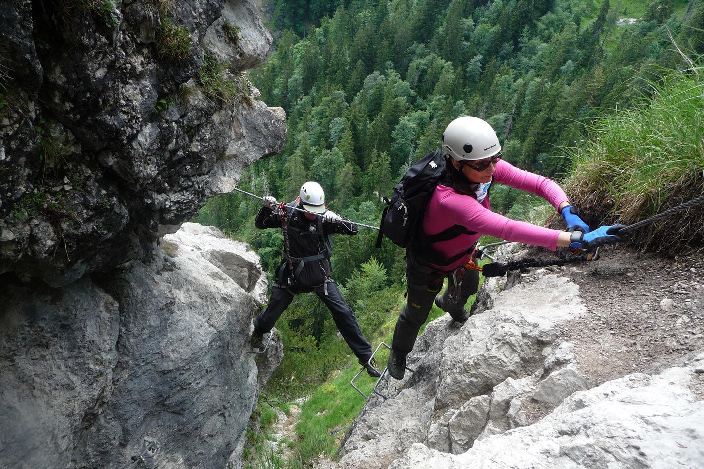 Klettersteig Fränkische Schweiz : Klettersteige berchtesgadener alpen 2018 dav suhl