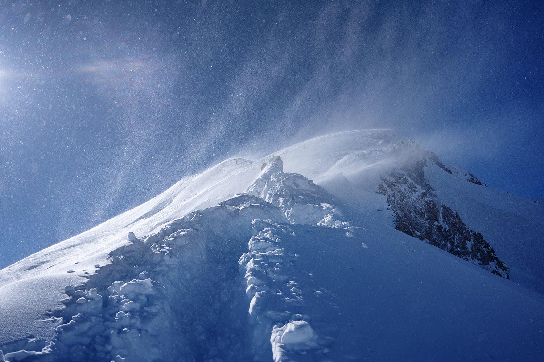Mt. Blanc . Juni 2018 (Foto: Axel Nastansky)