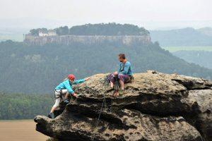 JDAV: Jugendkletterfahrt Sächsische Schweiz 2018