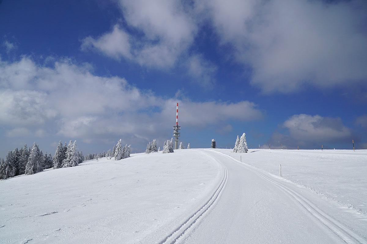 Winter im Schwarzwald: Feldberg (Foto: Sylvia/Klaus Wahl)