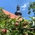 Grünes Band: an der Kirche St. Petrus in Behrungen (Foto: Andreas Kuhrt)